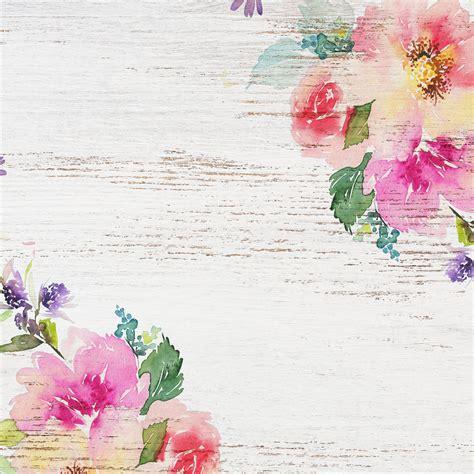 delightful distressed floral digital paper  pretty