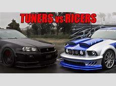Tuner vs Ricers Battle challenge Moto Cars Team