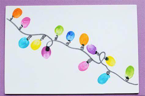 thumbprint diy christmas lights crafts for kids pbs