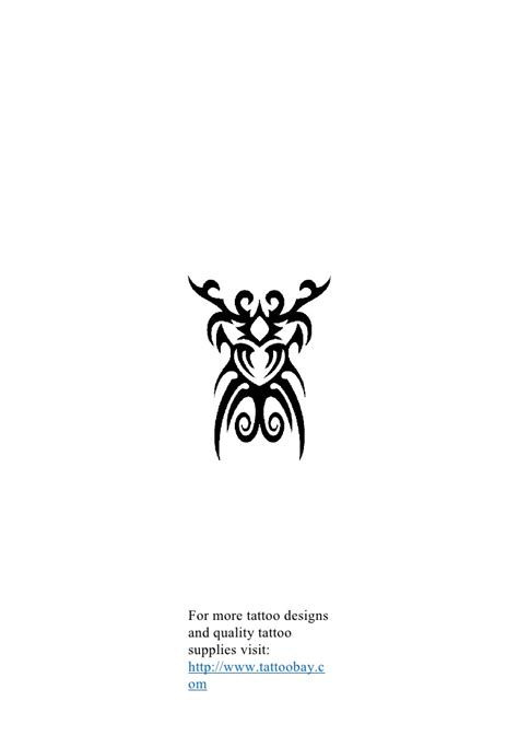 Tribal tattoo design reference book