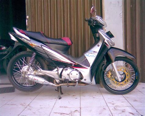 Gambar Modifikasi Supra X 125 Fi by Gambar Modifikasi Supra X 125 Sederhana Terbaru Model Road