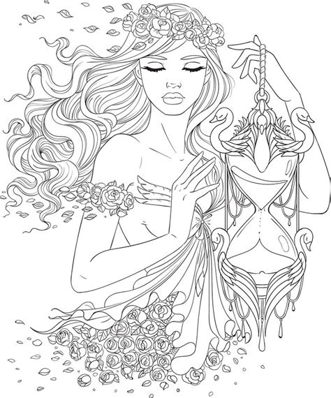 Artsy Coloring Pages Line Artsy Free Coloring Page Time Uncolored