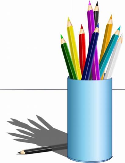Pencil Clipart اقلام صوره الوان Domain I2clipart