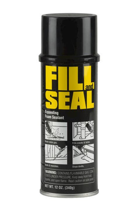 Fill And Seal Expanding Foam Sealant  12 Oz At Menards®