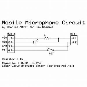 Cobra Electret Condenser Mic 1000 Ohm Wiring Diagram