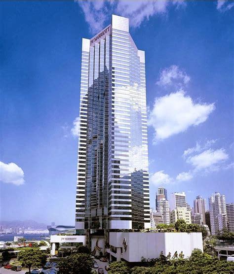 jw marriott hotel hong kong skyscraper  hong kong thousand wonders