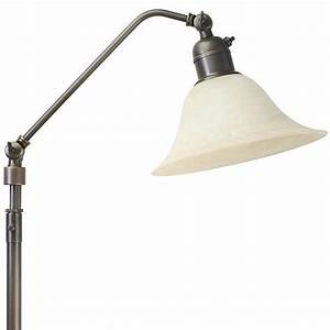 Stehlampe Mit Glasschirm : stehlampe und leselampe mit glasschirm im modernen landhausstil von menzel leuchten ~ Markanthonyermac.com Haus und Dekorationen