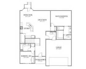 open floor plans for small houses great room floor plan home ideas