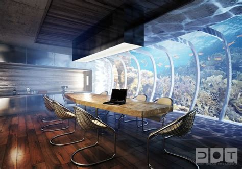 Awesome Underwater Hotel In Dubai The Water Discus by Awesome Underwater Hotel In Dubai The Water Discus Moco