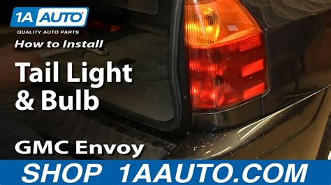 install replace tail light  bulb   gmc
