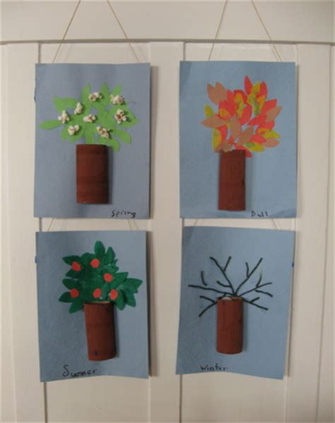 make four season trees activity education 893 | make four season trees slide