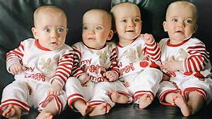 First Ever Identical Quadruplets - Amazing Pregnancy - YouTube