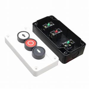 Push Button Station Up Down Arrows With Stop Button Hoist