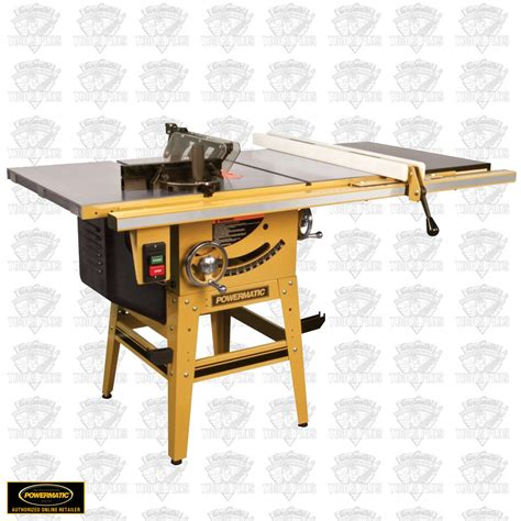 powermatic 64b table saw review powermatic 1791229k 64b 1 75hp 115 230v contractor table saw