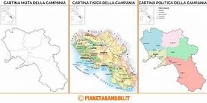 Cartina Muta Fisica E Politica Del Friuli Venezia Giulia