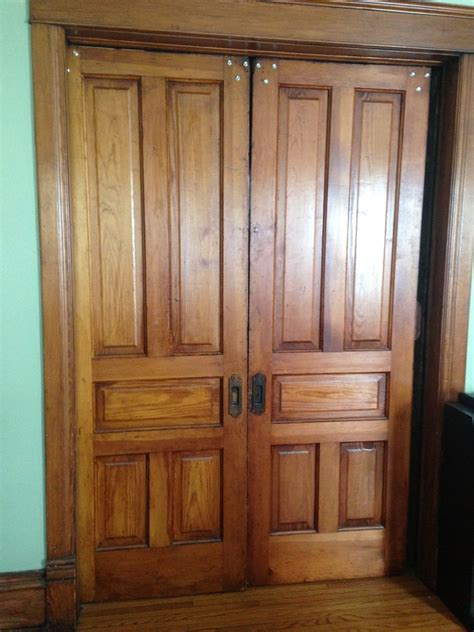 how to fix a pocket door hometalk how to repair pocket doors
