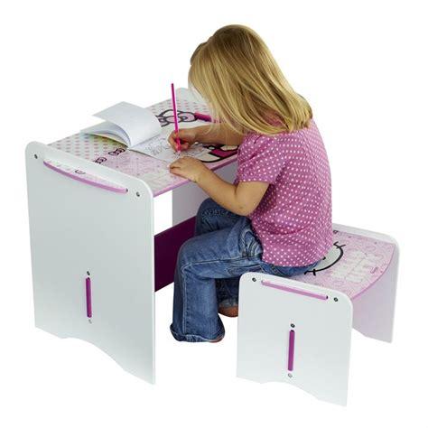 bureau hello bureau pour fille hello