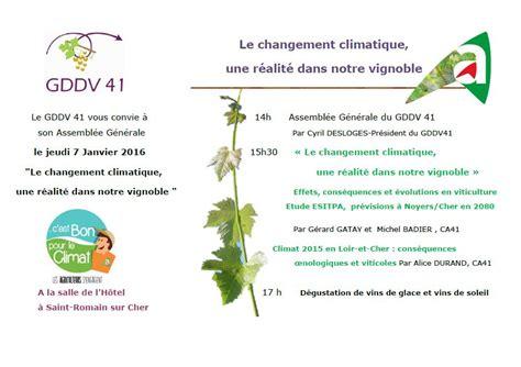 chambre agriculture cher le changement climatique réalité dans le vignoble mon viti