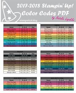 Rgb Farbtabelle Pdf : new 2017 2018 annual catalog sneak peek su color ideas stampin up catalog rgb color codes ~ Buech-reservation.com Haus und Dekorationen