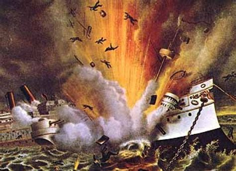 Sinking Of The Uss Maine by Sinking Of The Battleship Maine Save Mabel Memorial Chapel