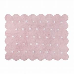 tapis bebe biscuit rose lavable en coton pour chambre With tapis chambre bébé avec livraison de roses Ï domicile