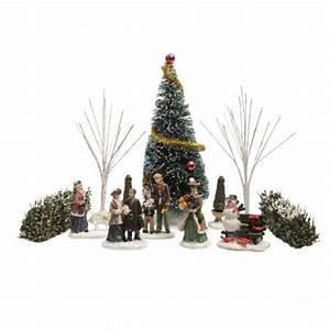 Personnage Pour Village De Noel : accessoires village de noel ~ Melissatoandfro.com Idées de Décoration