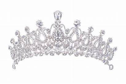 Crown Diamond Jewelry Boho Transparent Gothic Bridal