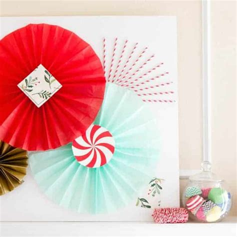 Backdrops How To Make by Photobooth Backdrop Tissue Paper Fan Tutorial