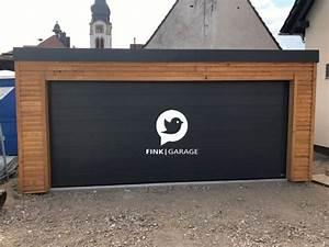 Garage Mit Holz Verkleiden : fink garage neulu heim bw fassade aus l rchenholz ~ Watch28wear.com Haus und Dekorationen