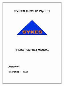 Hh220i Smaster Manual