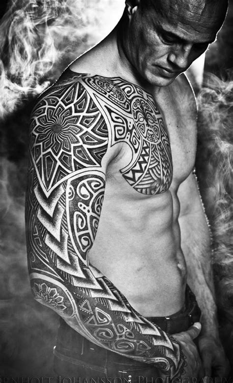 cool full sleeve tattoo for men ~ Tattowmag