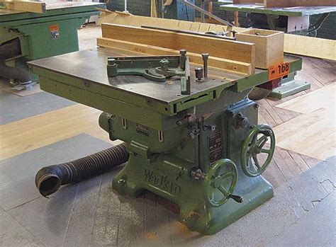 wadkin table  antique woodworking tools