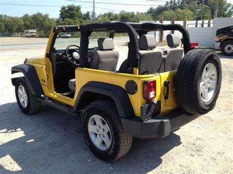 crashed jeep wrangler buy used 2008 jeep wrangler salvage wrecked damaged