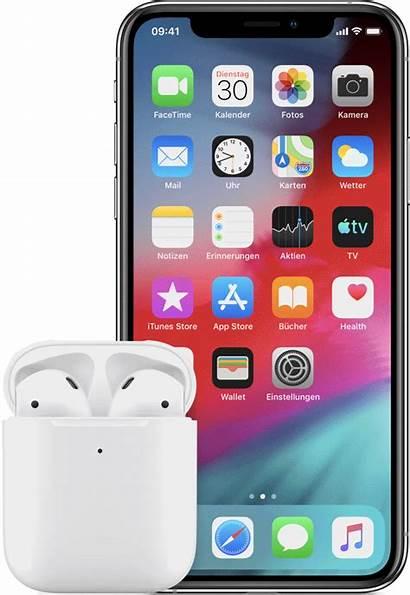 Airpods Iphone Apple Ipad Verbinden Pods Conectar