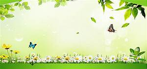 Green Nature Background, Green, Nature, Poster Banner ...