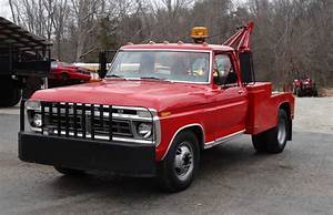 1973 Ford F350 Wrecker 360 4 Speed Red Have Title For Sale