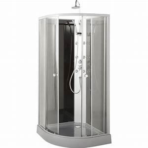 Cabine De Douche 80x80 : cabine douche hydromassante ~ Edinachiropracticcenter.com Idées de Décoration