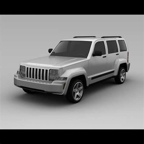 jeep models 2008 3ds max jeep liberty 2008