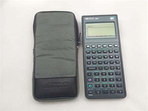 Calculadora Hp 48gx Lcd Negro Reacondicionada (nº300