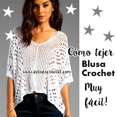 tutoriales de blusas tejidas a crochet blusa a crochet para mujer todo crochet