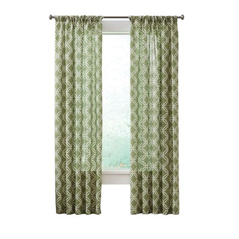 home decorators collection home depot canada home decorators collection essex curtain green 52