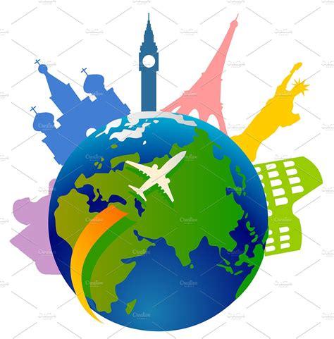 Tourism ~ Illustrations ~ Creative Market