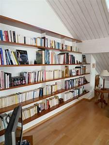 Bibliothèque Murale Design : construire une biblioth que murale aq17 jornalagora ~ Teatrodelosmanantiales.com Idées de Décoration