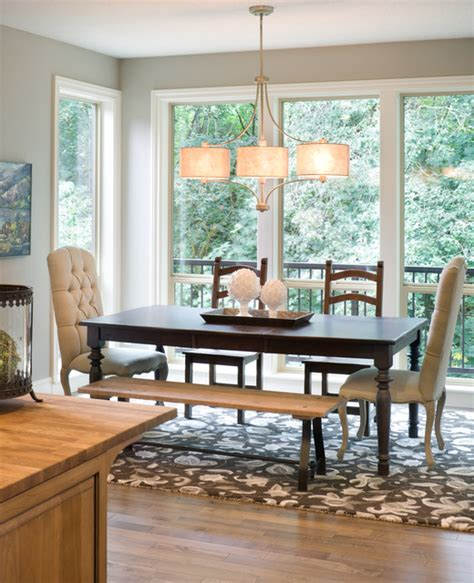 transitional chandeliers for dining room the vidabelo transitional dining room vancouver by