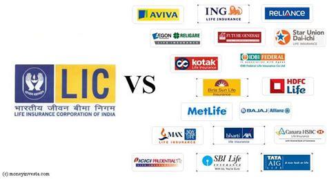 Lic Vs Private Insurer
