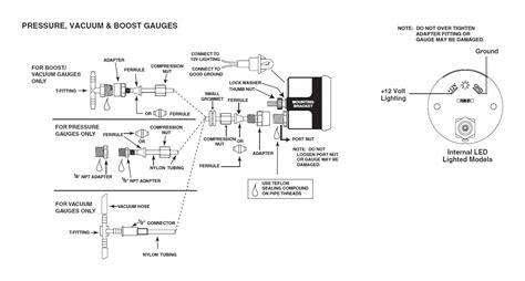 Autometer Electric Oil Pressure Gauge Wiring Diagram