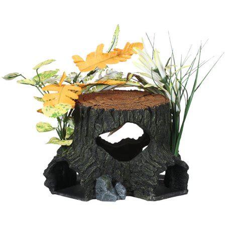 aqua culture  large wood aquarium ornament assorted item