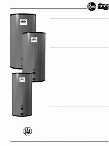 Download Rheem Water Heater 115 Manual And User Guides