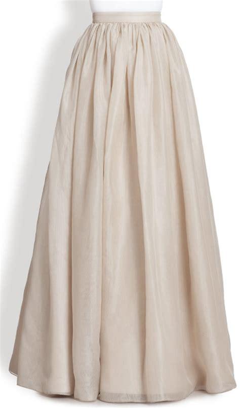 white dress plus size ivory white chiffon maxi skirt elizabeth 39 s custom skirts