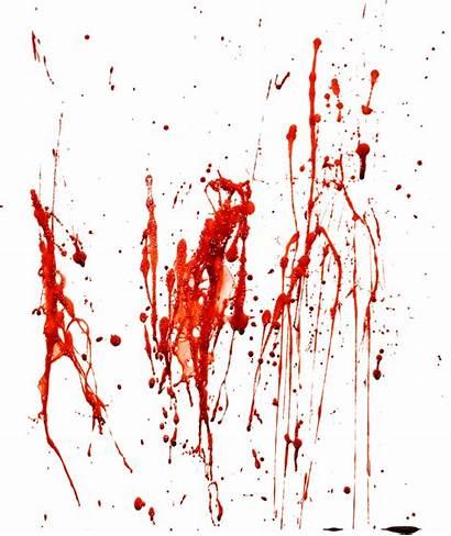 Blood Transparent Halloween Splash Splatter Stain Bloody